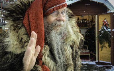 Jul i Åre – vinterlandskap, skidåkning och Kalle Anka